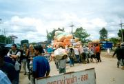 Border crossing at Poipet