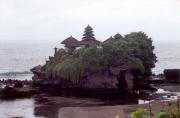 Tanah Lot on a dull day