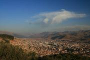 Cusco from the mountain above