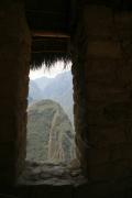 The view from a Machu Picchu house