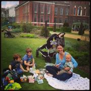 Lunch at Kensington Gardens