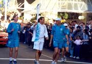 Olympic Torch reaches Sydney