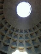 The ceiling of the Pantheon