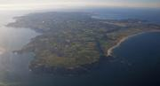 Jersey from the air