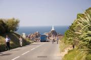 Approaching Corbiere lighthouse