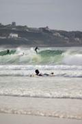 Surfing at St Ouen's