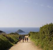 Walking around Sark