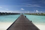 The Water Bungalows of Sun Island