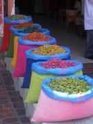 Colourful wares, Morocco