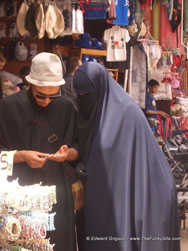 Haggling in the souk