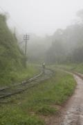 Old colonial railway line