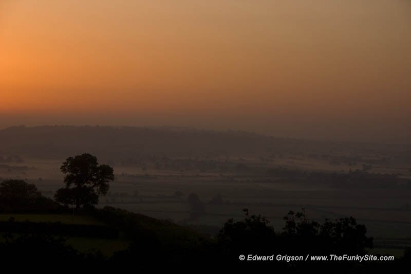 Glastonbury sunrise