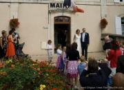 Exiting the Mairie